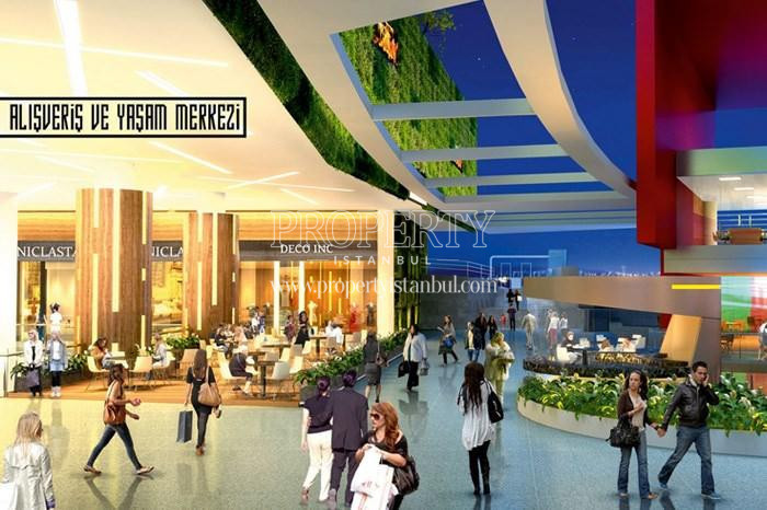 The shopping mall in 42 Maslak