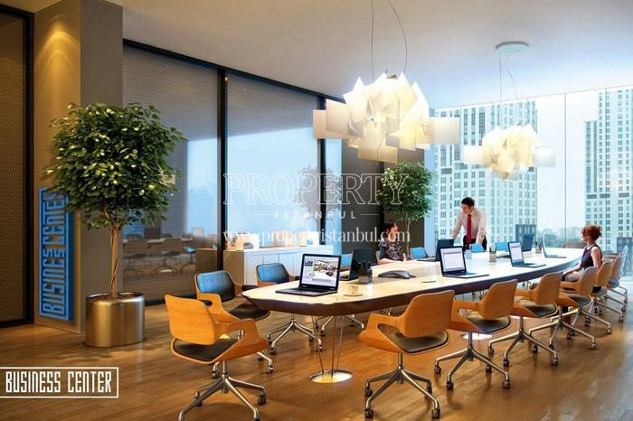 The meeting room in 42 Maslak