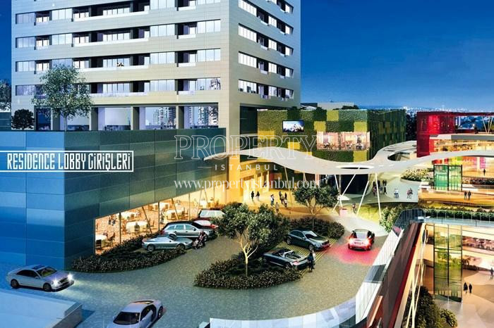 Parking lot in 42 Maslak project