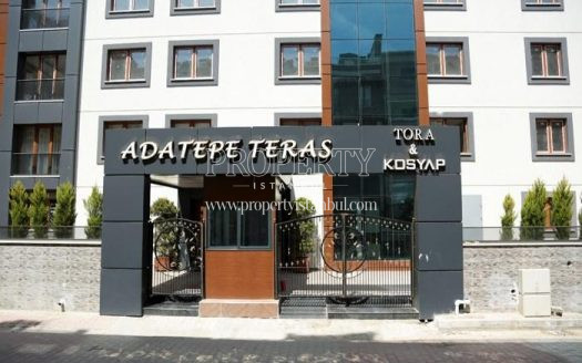 The entrance of Adatepe Teras complex