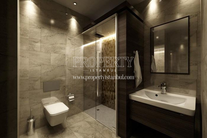 One of the bathrooms in Belgrad Life Villa