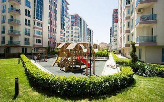 A playground for children in Modakent Cekmekoy