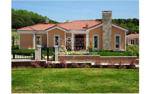 One of the luxury villas in Neo Golpark Istanbul 4. Etap