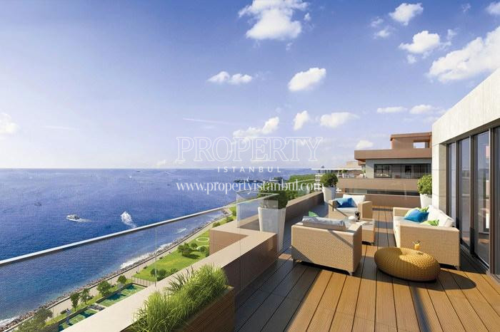 Viewing terrace in the penthouse in Pruva 34