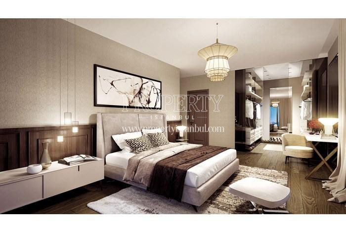 One of the master bedrooms in Pruva 34