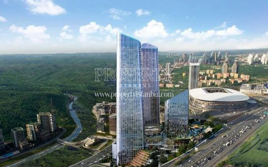 Skyland Istanbul project near the stadium