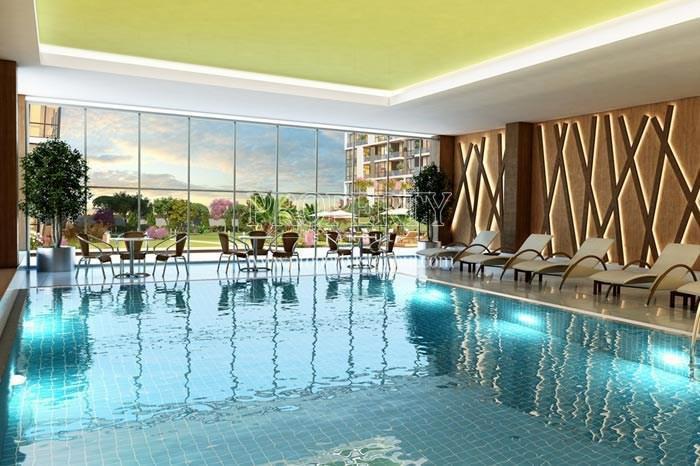 Indoor swimming pool in Still Istanbul Adoria