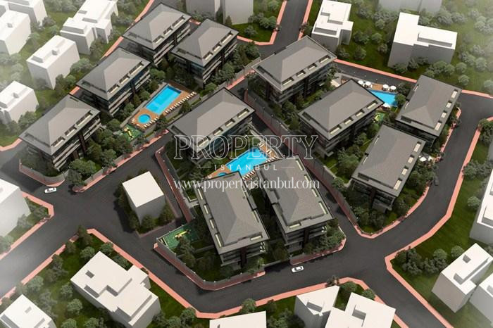 The layout plan of Tarabya Life compound