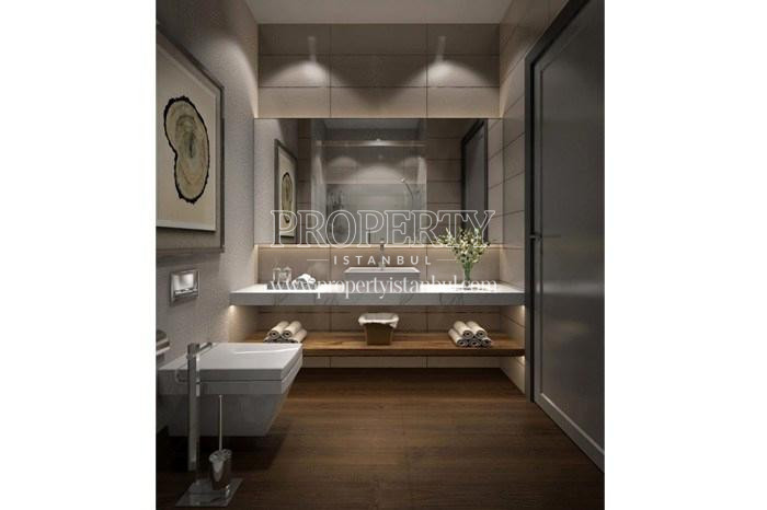 One of the bathrooms in Tarabya Life