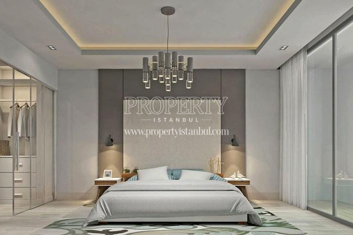 One of the master bedrooms in Tarabya Life