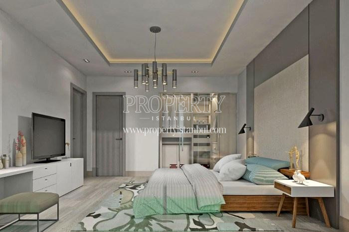 One of the master bedrooms in Tarabya Life homes