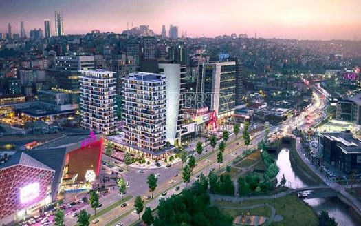 Tempo City Kagithane project just next to the mall