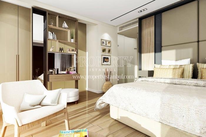 Small master bedrooms in Therra Park Tarabya
