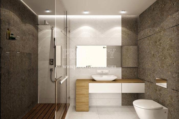 One of the bathrooms in Therra Park Tarabya