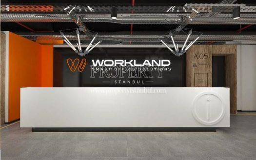 The reception of WorkLand Maslak