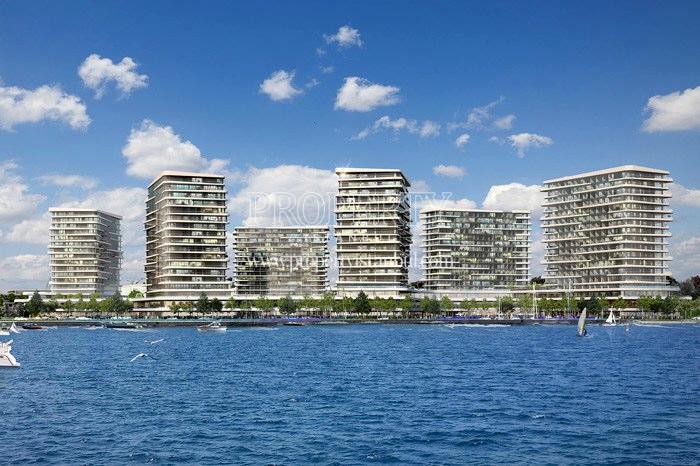 Yedi Mavi compound view from the sea