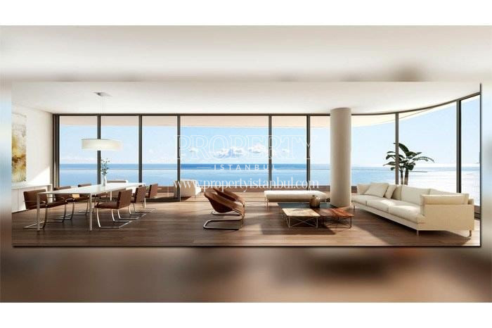 Spacious living room in Yedi Mavi