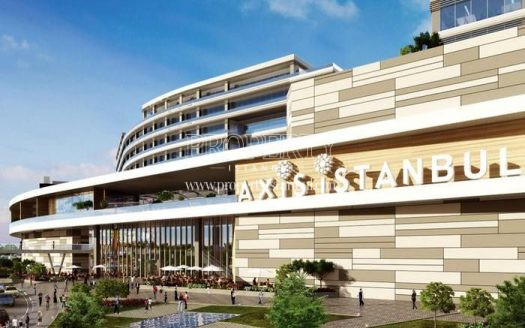 Shopping center in Axis Istanbul project