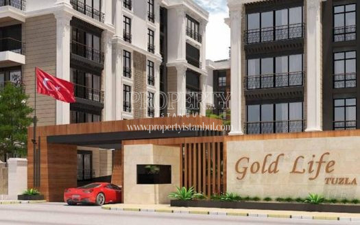 The entrance of Gold Life Tuzla