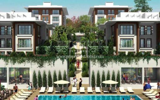 The swimming pool of Hobi Life