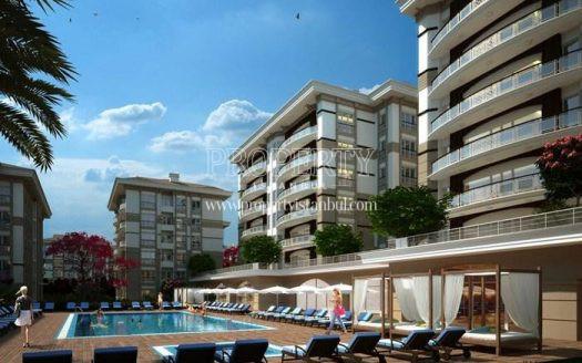 THe outdoor swimming pool of Maritza Beykoz Vadi Evleri