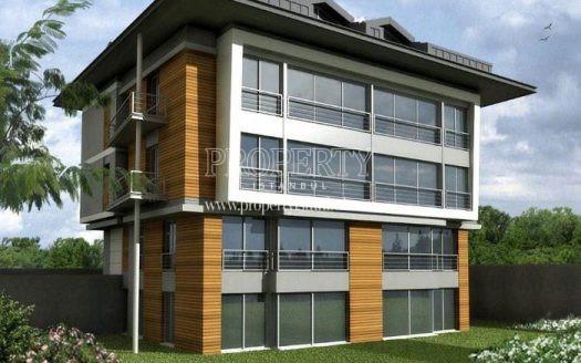 One of the buildings in Maritza Istinye Evleri