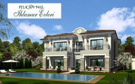 One of the villas in Pelican Hill Ihlamur Evleri