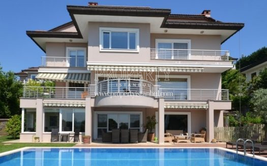 A luxury house with the own swimming pool in Acarkent
