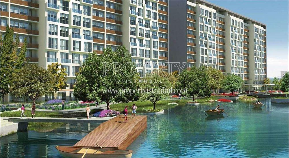Aqua City 2010 blocks with the lagun