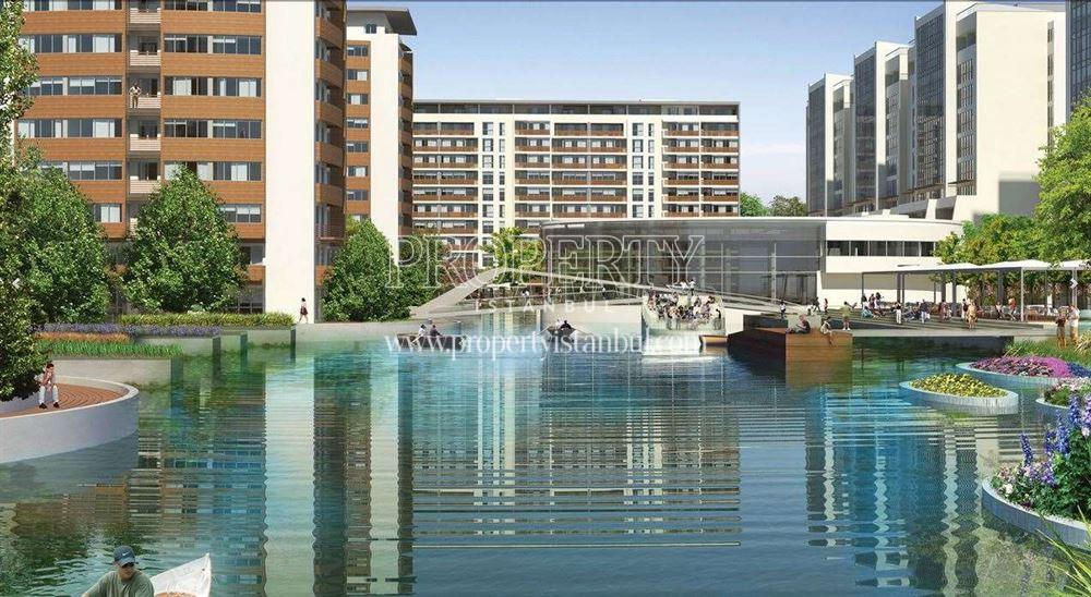 The big lagun in Aqua City 2010
