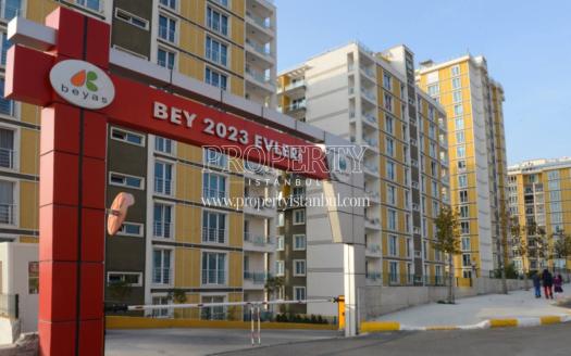 Bey 2023 Evleri site gate