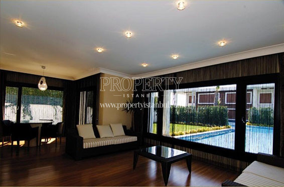 Bibos Koru Su Villalari livingroom