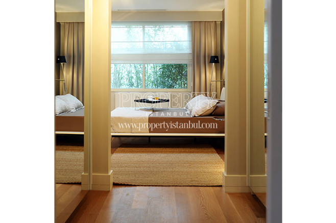 The bedroom in Bomonti Apartman