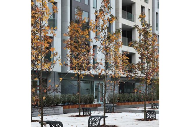 Bomonti Apartman garden