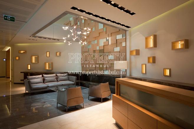 The lobby of Bomonti Apartman