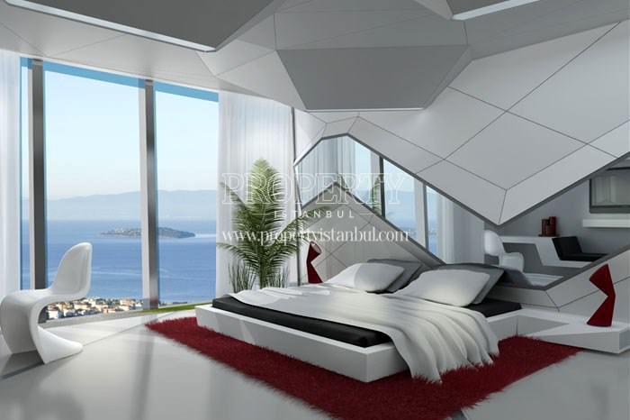A bedroom in Dap Vazo Kule