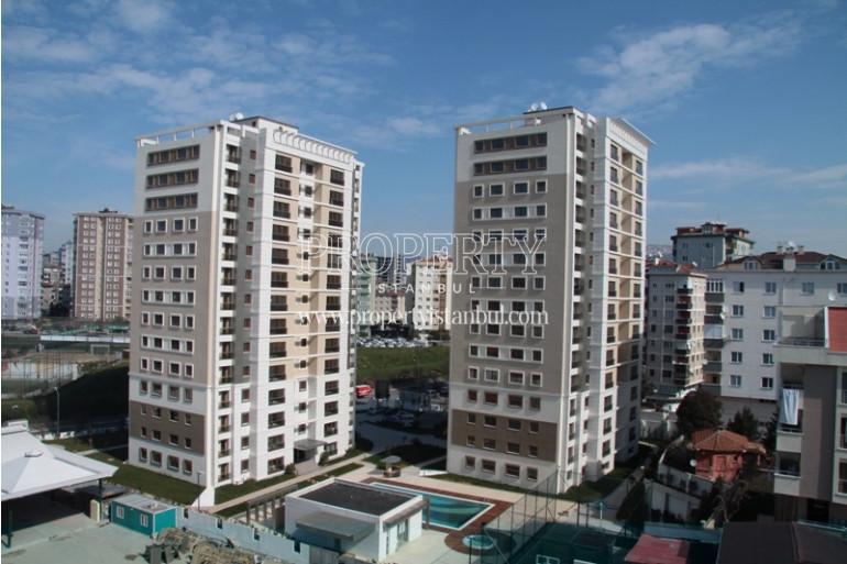 Demirli Turkuaaz Evleri blocks