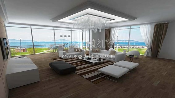 Deniz Yildizi spacious living room