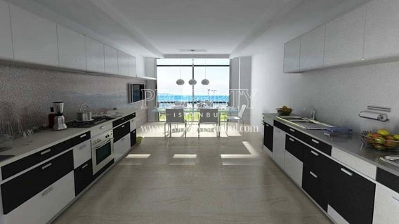 Deniz Yildizi wide kitchen