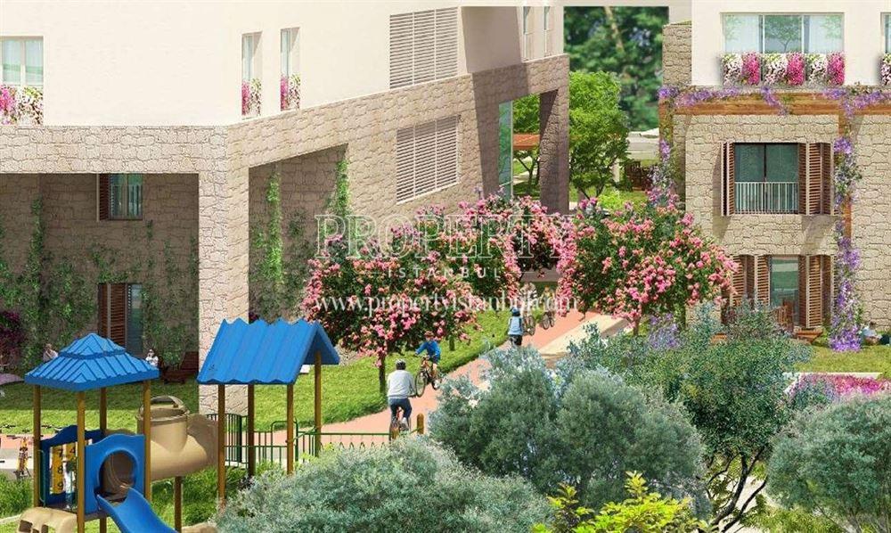 Ege Boyu complex garden