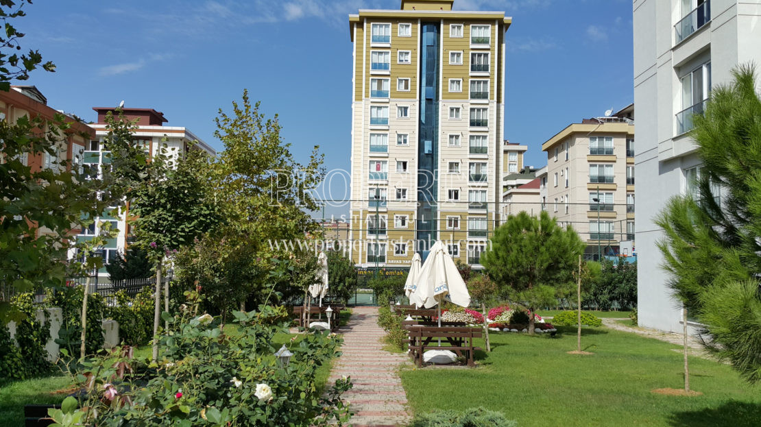 The garden of Evonpark Atasehir