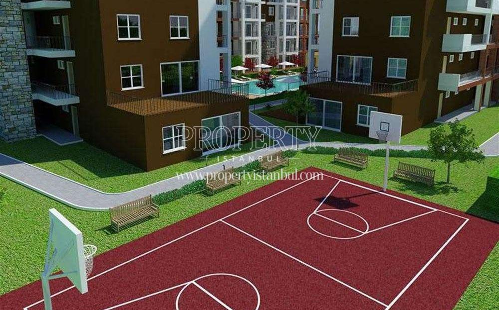 Basketball field in Grand Slam Properties