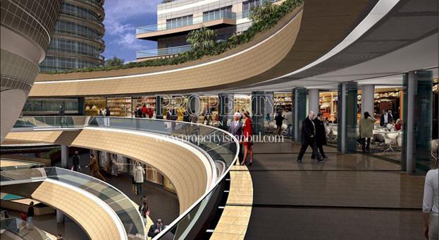 Shopping center in Kanyon Residence