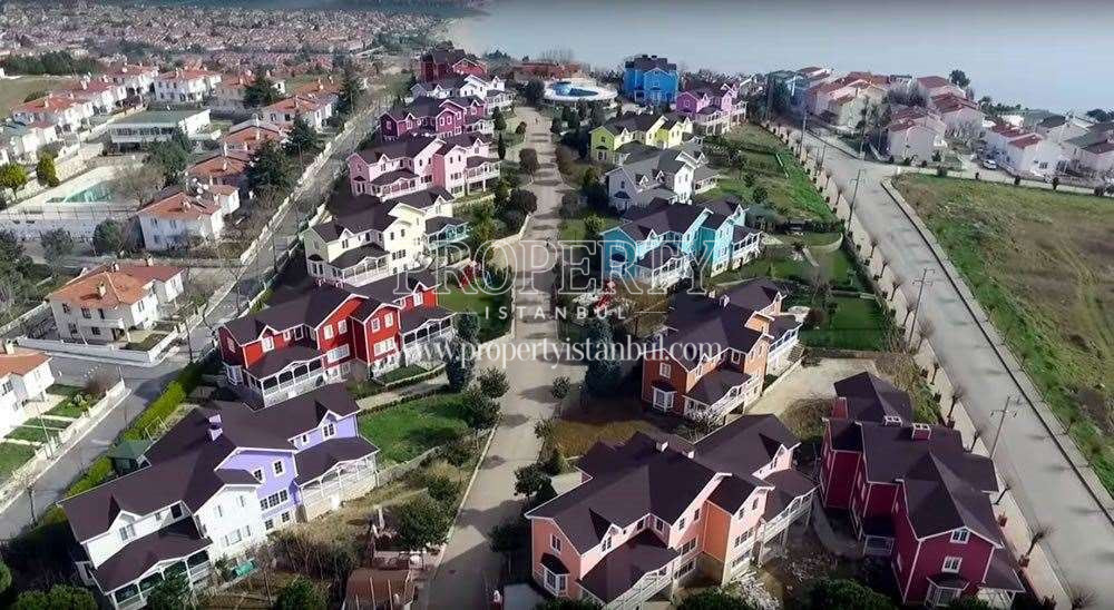 Leoland City Vİllalari houses from the top
