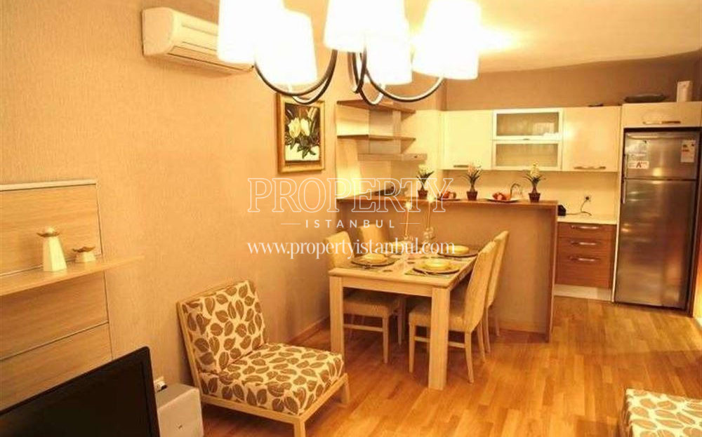 Open kitchen in Mahalle Istanbul