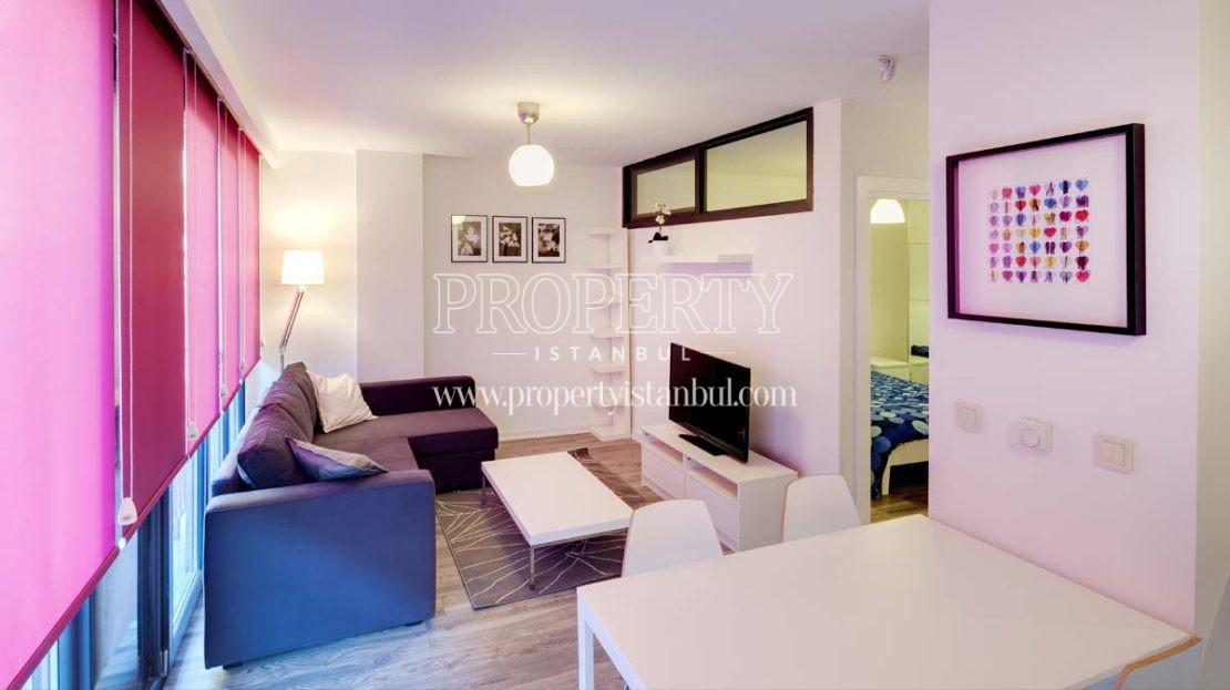 A livingroom in Mika Studios