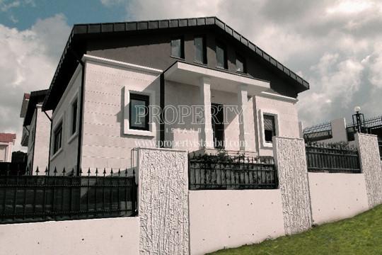 A villa in Neos Evleri