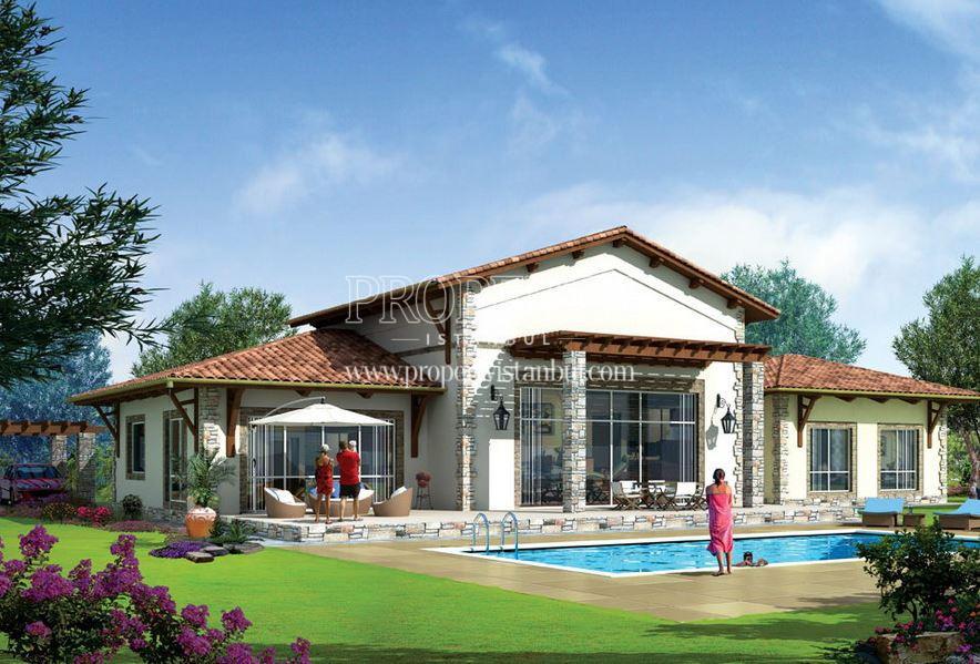 Luxury villa wiht the swimming pool in Park Village