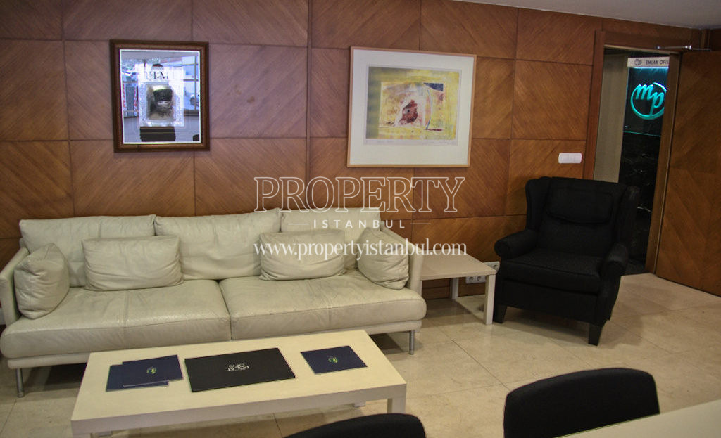 The lobby of Polat Tower Residence