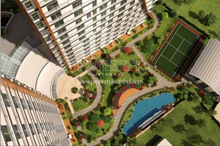 Panaromical view of Statu Park project